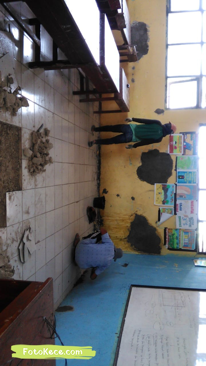 proses perbaikan sarana fasilitas bmn foto kece 2019 179