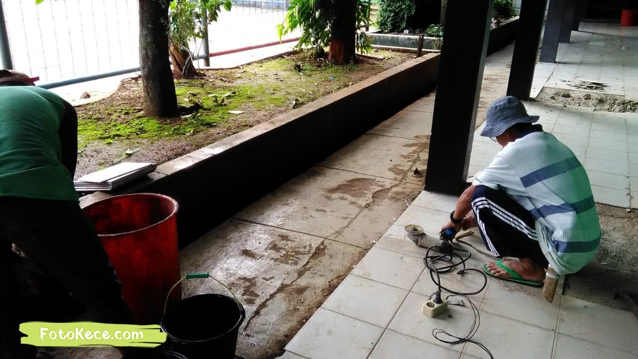 proses perbaikan sarana fasilitas bmn foto kece 2019 182