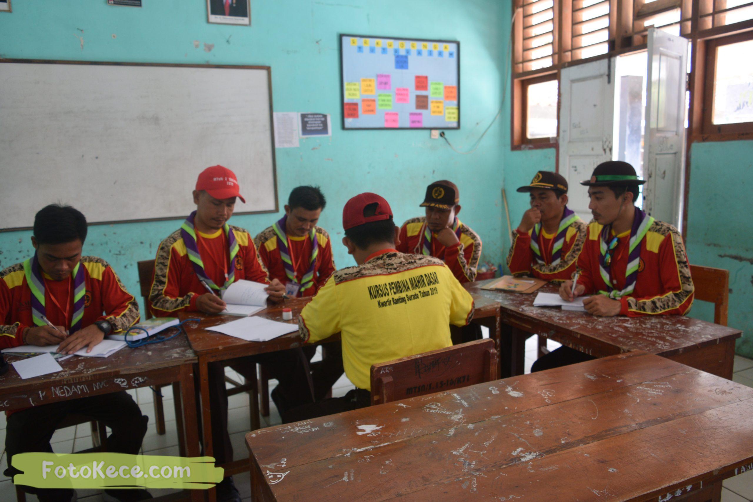kehebohan pada kursus pembina mahir tingkat dasar kmd kwartir ranting surade 2019 fotokece Des 2019 70 scaled