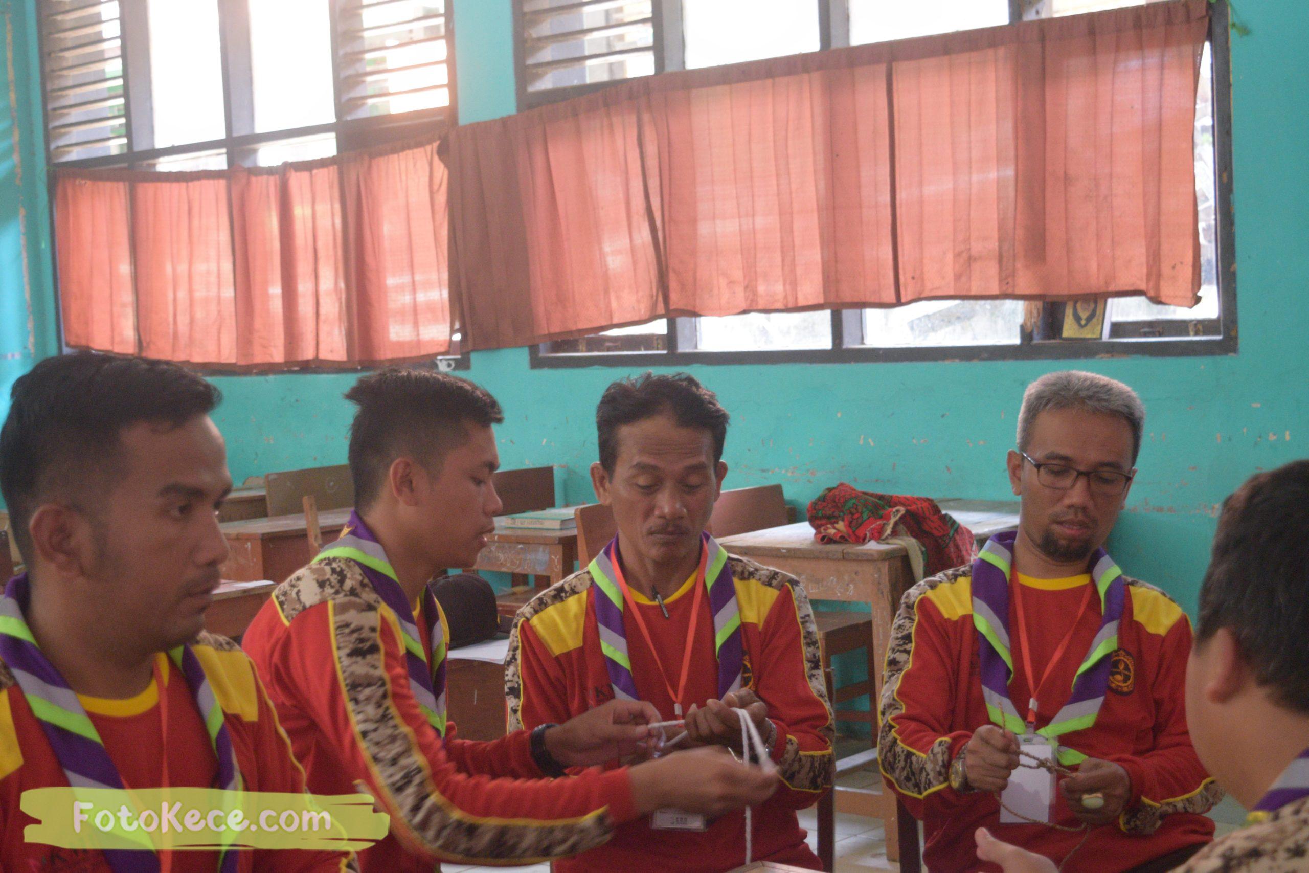 kehebohan pada kursus pembina mahir tingkat dasar kmd kwartir ranting surade 2019 fotokece Des 2019 93 scaled