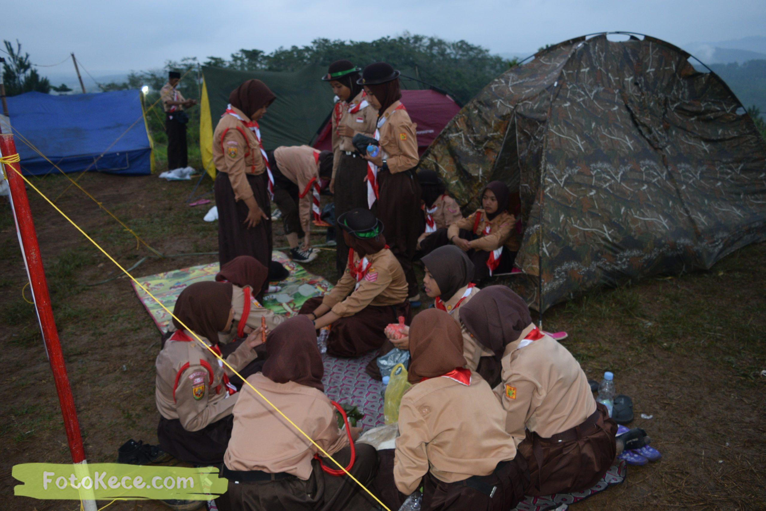 kegiatan sore malam perkemahan narakarya 1 mtsn 2 sukabumi 24 25 januari 2020 pramuka hebat puncak buluh foto kece 14 scaled