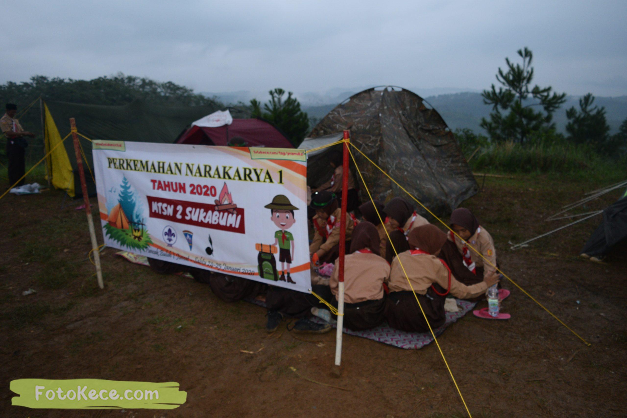 kegiatan sore malam perkemahan narakarya 1 mtsn 2 sukabumi 24 25 januari 2020 pramuka hebat puncak buluh foto kece 22 scaled
