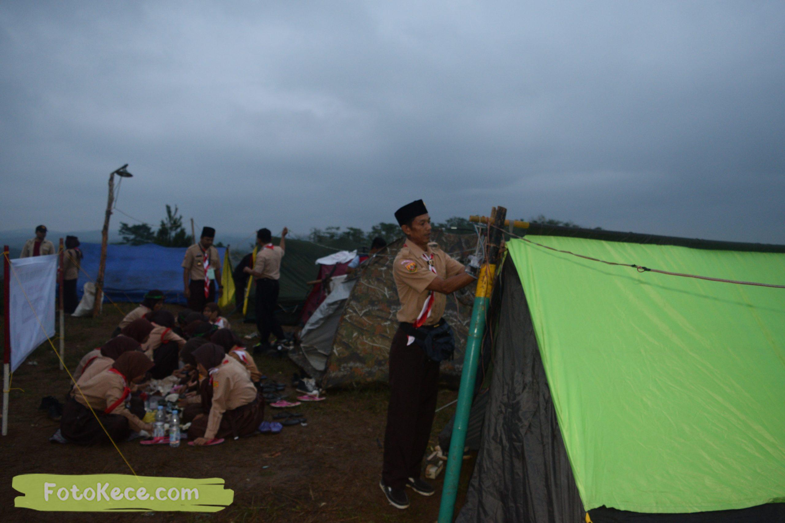 kegiatan sore malam perkemahan narakarya 1 mtsn 2 sukabumi 24 25 januari 2020 pramuka hebat puncak buluh foto kece 35 scaled