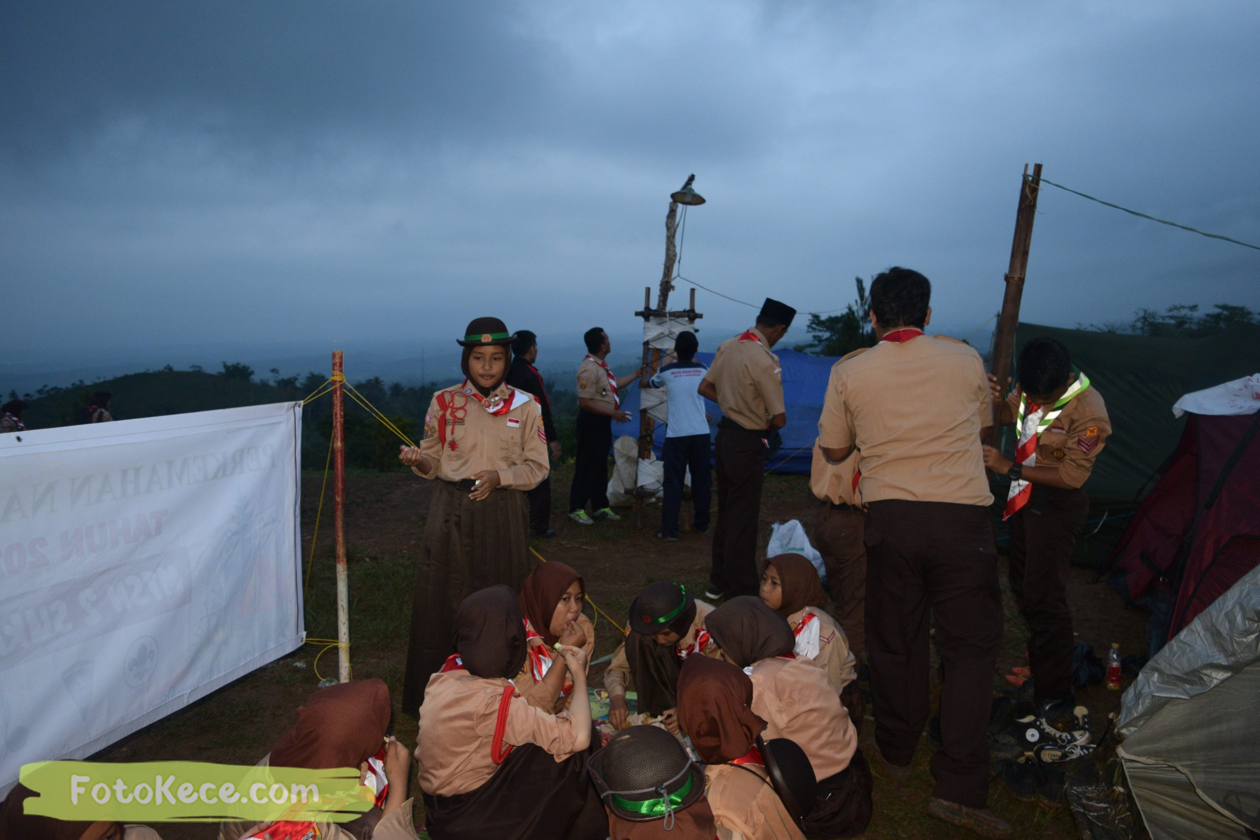 kegiatan sore malam perkemahan narakarya 1 mtsn 2 sukabumi 24 25 januari 2020 pramuka hebat puncak buluh foto kece 42 scaled