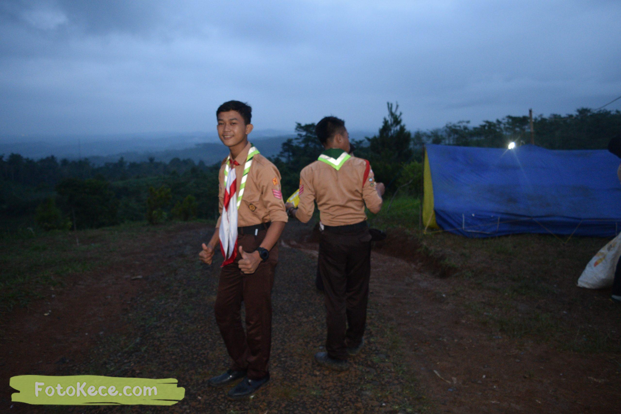 kegiatan sore malam perkemahan narakarya 1 mtsn 2 sukabumi 24 25 januari 2020 pramuka hebat puncak buluh foto kece 48 scaled