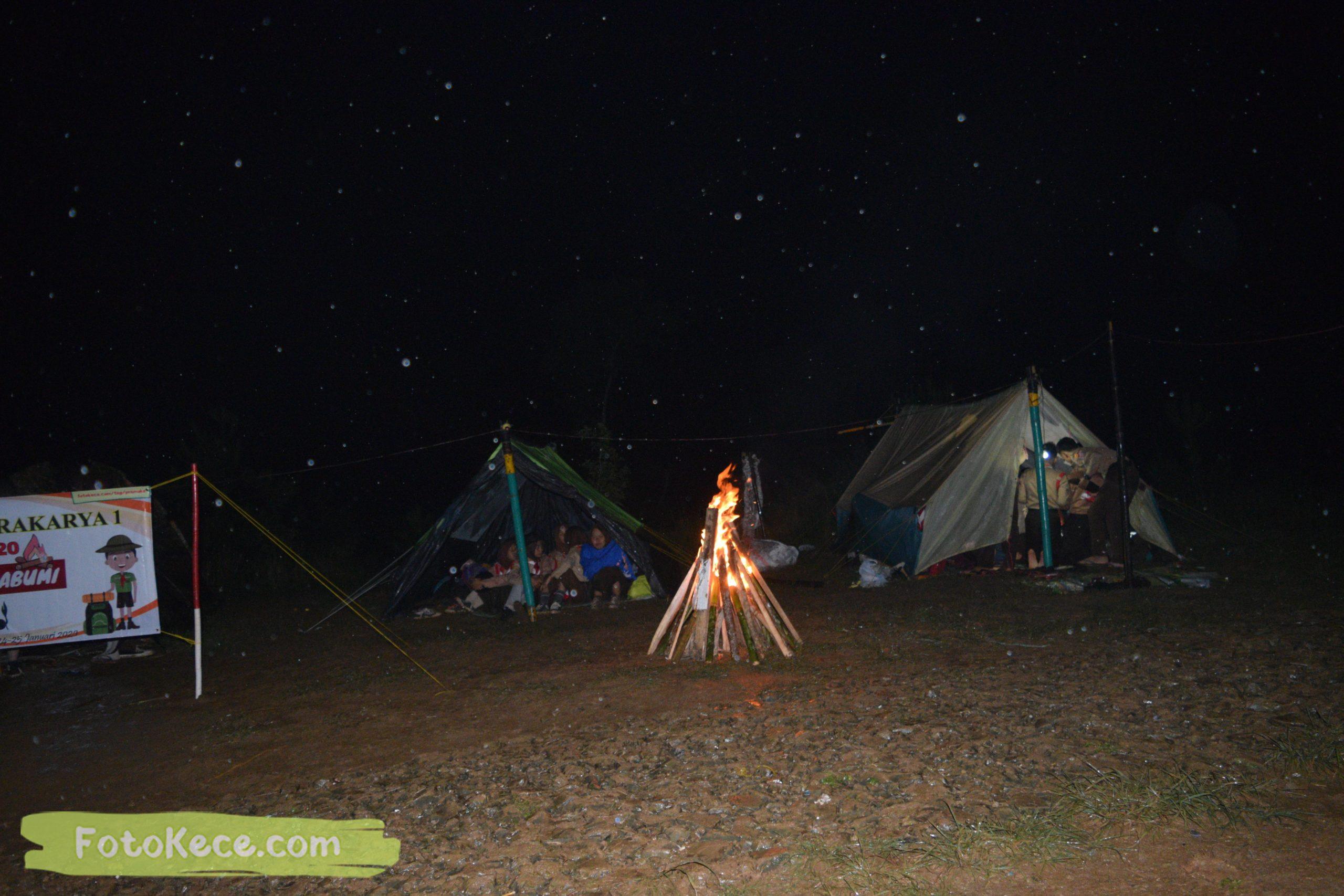 kegiatan sore malam perkemahan narakarya 1 mtsn 2 sukabumi 24 25 januari 2020 pramuka hebat puncak buluh foto kece 66 scaled