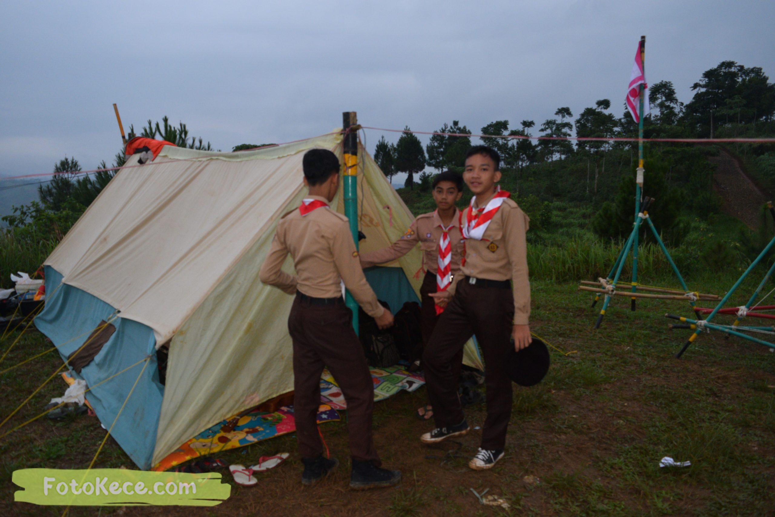 kegiatan sore malam perkemahan narakarya 1 mtsn 2 sukabumi 24 25 januari 2020 pramuka hebat puncak buluh foto kece 8 scaled