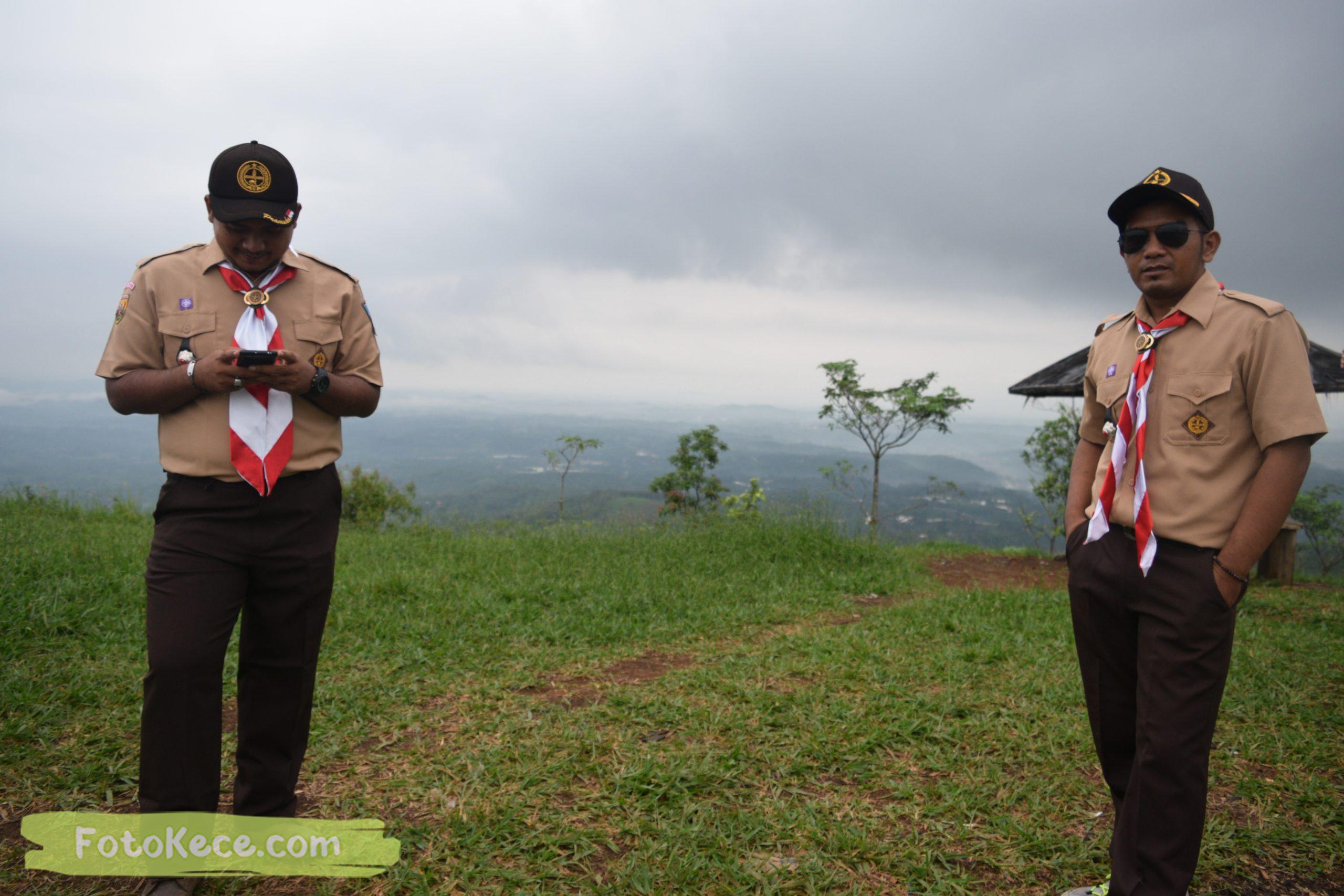 lutfi pada pembukaan perkemahan narakarya 1 mtsn 2 sukabumi 24 25 januari 2020 pramuka hebat wisata alam puncak buluh jampangkulon 79 scaled