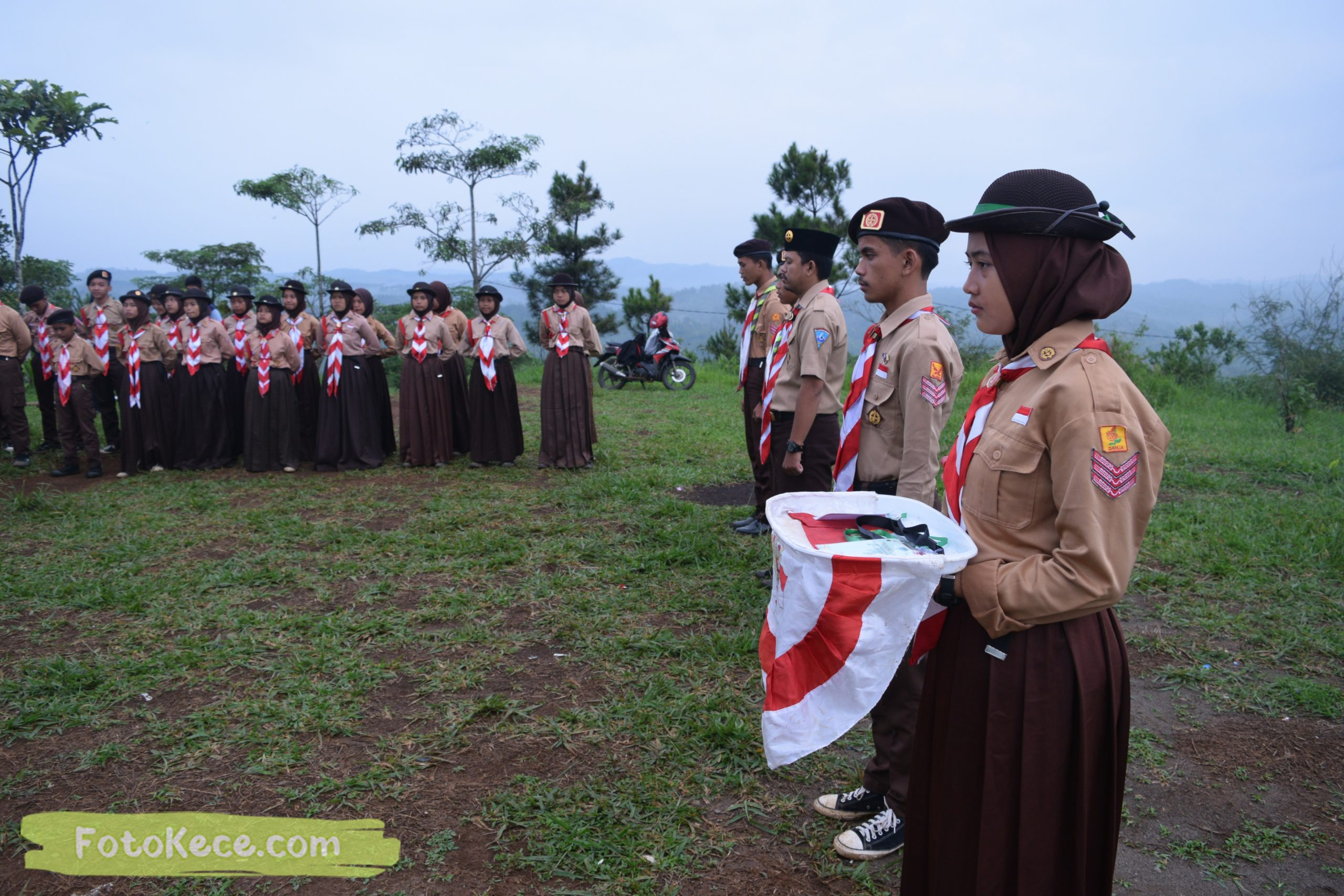 pembukaan perkemahan narakarya 1 mtsn 2 sukabumi 24 25 januari 2020 pramuka hebat wisata alam puncak buluh jampangkulon 12 scaled