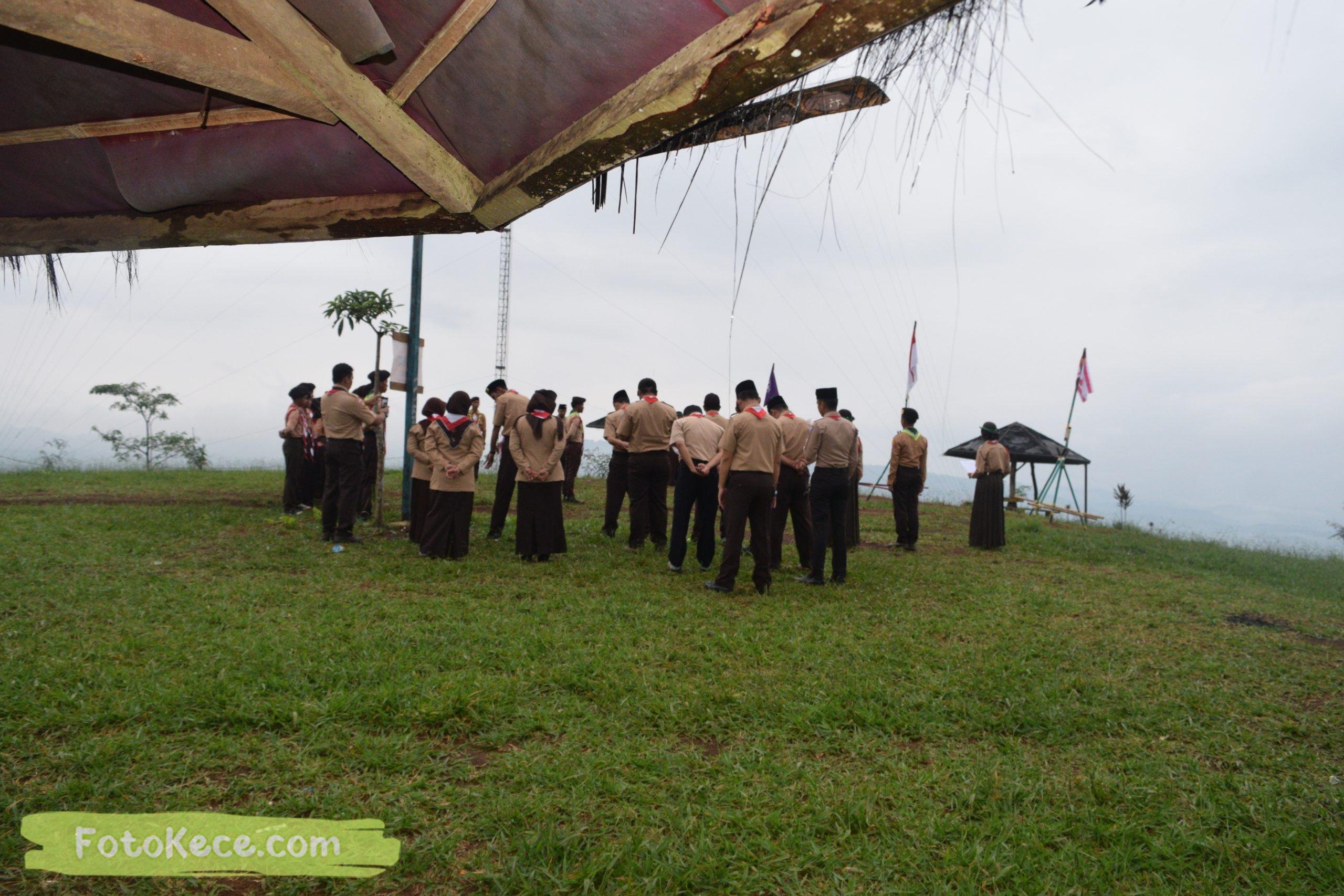 pembukaan perkemahan narakarya 1 mtsn 2 sukabumi 24 25 januari 2020 pramuka hebat wisata alam puncak buluh jampangkulon 37 scaled