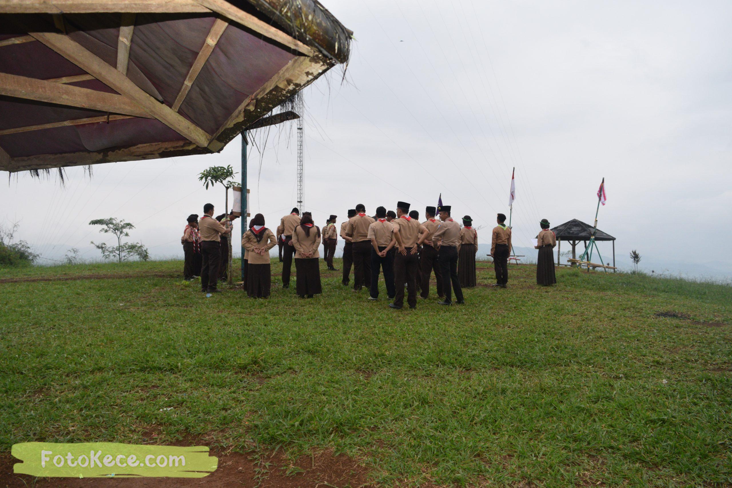 pembukaan perkemahan narakarya 1 mtsn 2 sukabumi 24 25 januari 2020 pramuka hebat wisata alam puncak buluh jampangkulon 39 scaled