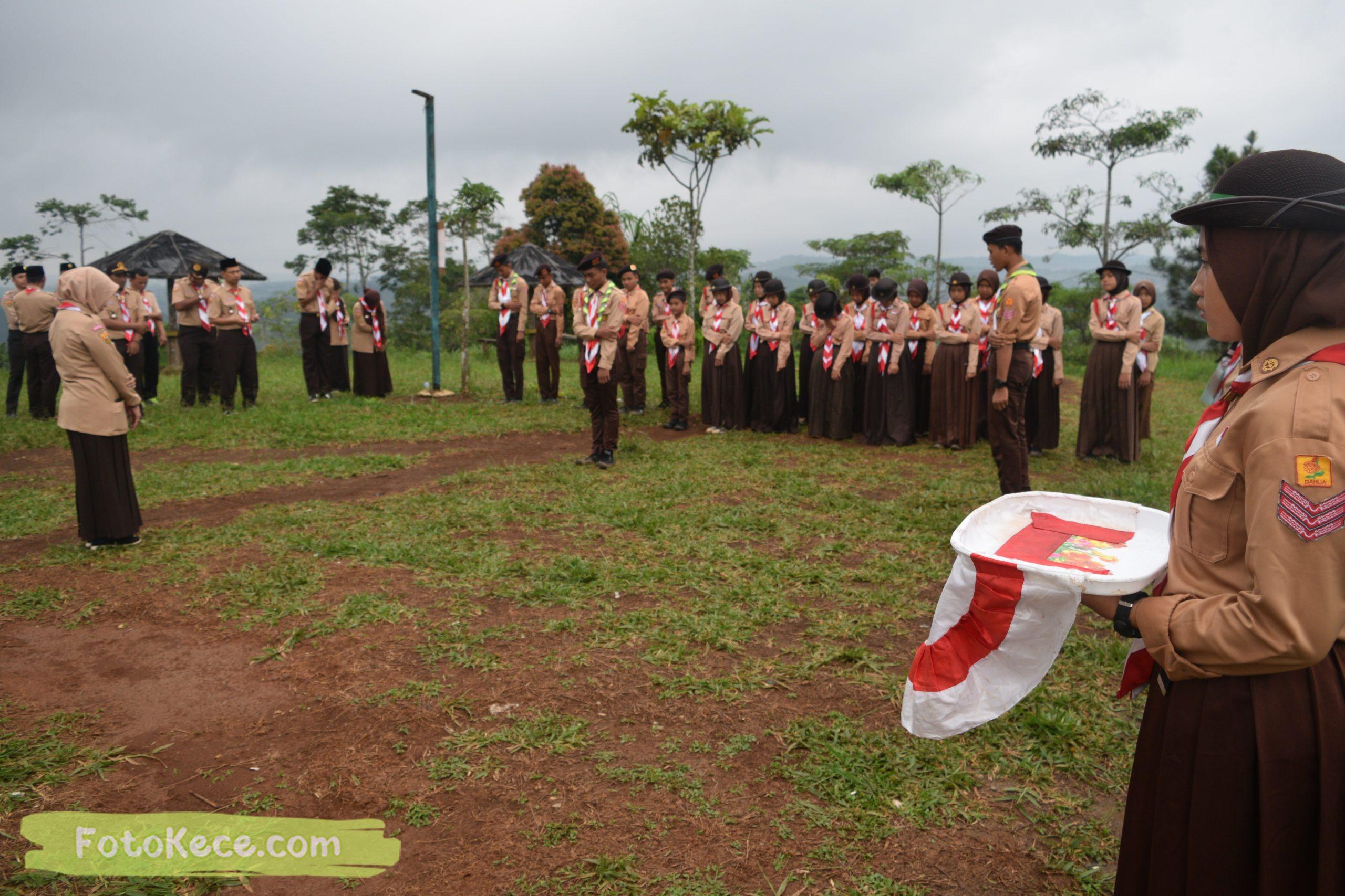 pembukaan perkemahan narakarya 1 mtsn 2 sukabumi 24 25 januari 2020 pramuka hebat wisata alam puncak buluh jampangkulon 51 scaled