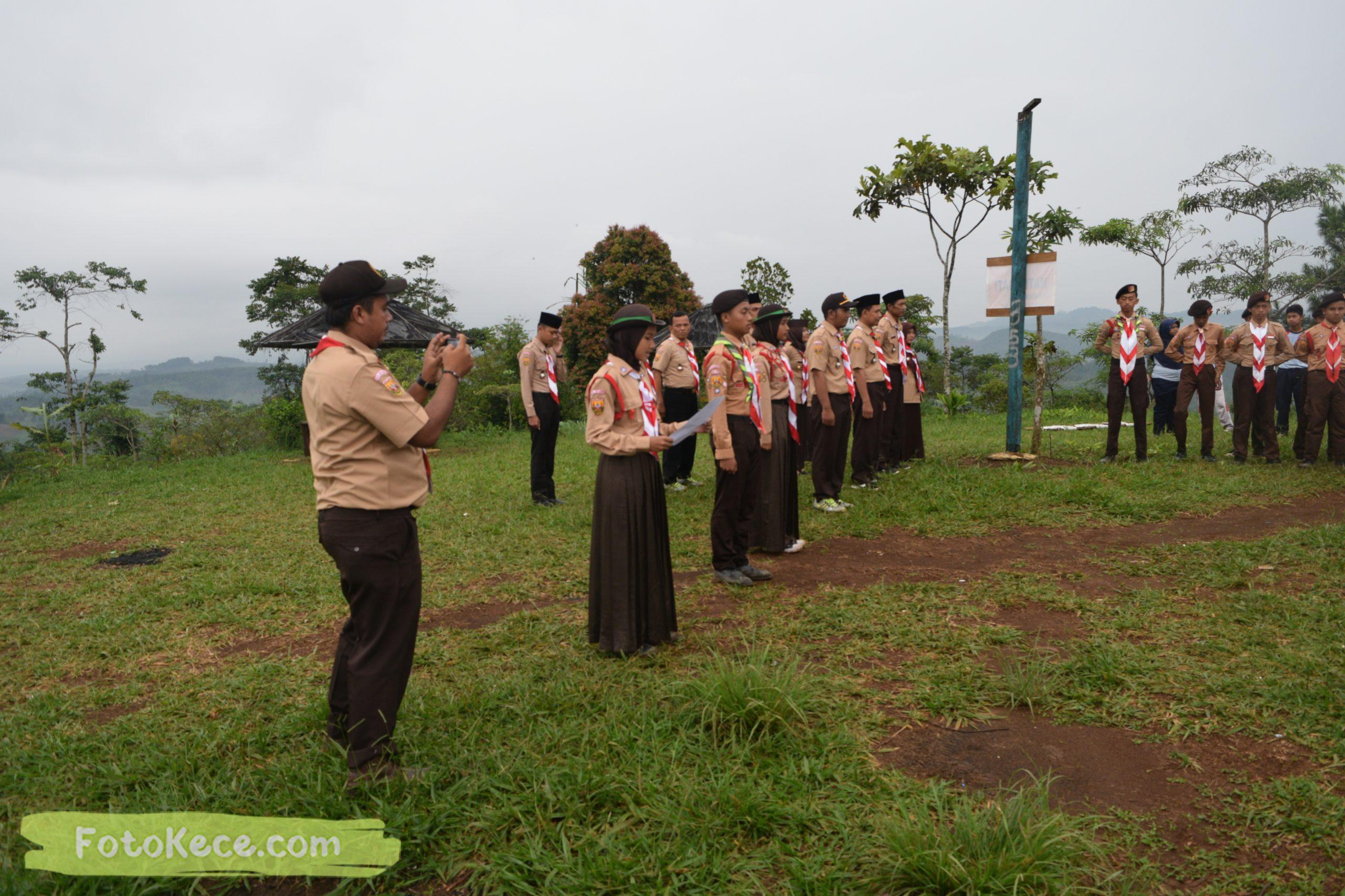 pembukaan perkemahan narakarya 1 mtsn 2 sukabumi 24 25 januari 2020 pramuka hebat wisata alam puncak buluh jampangkulon 7 scaled