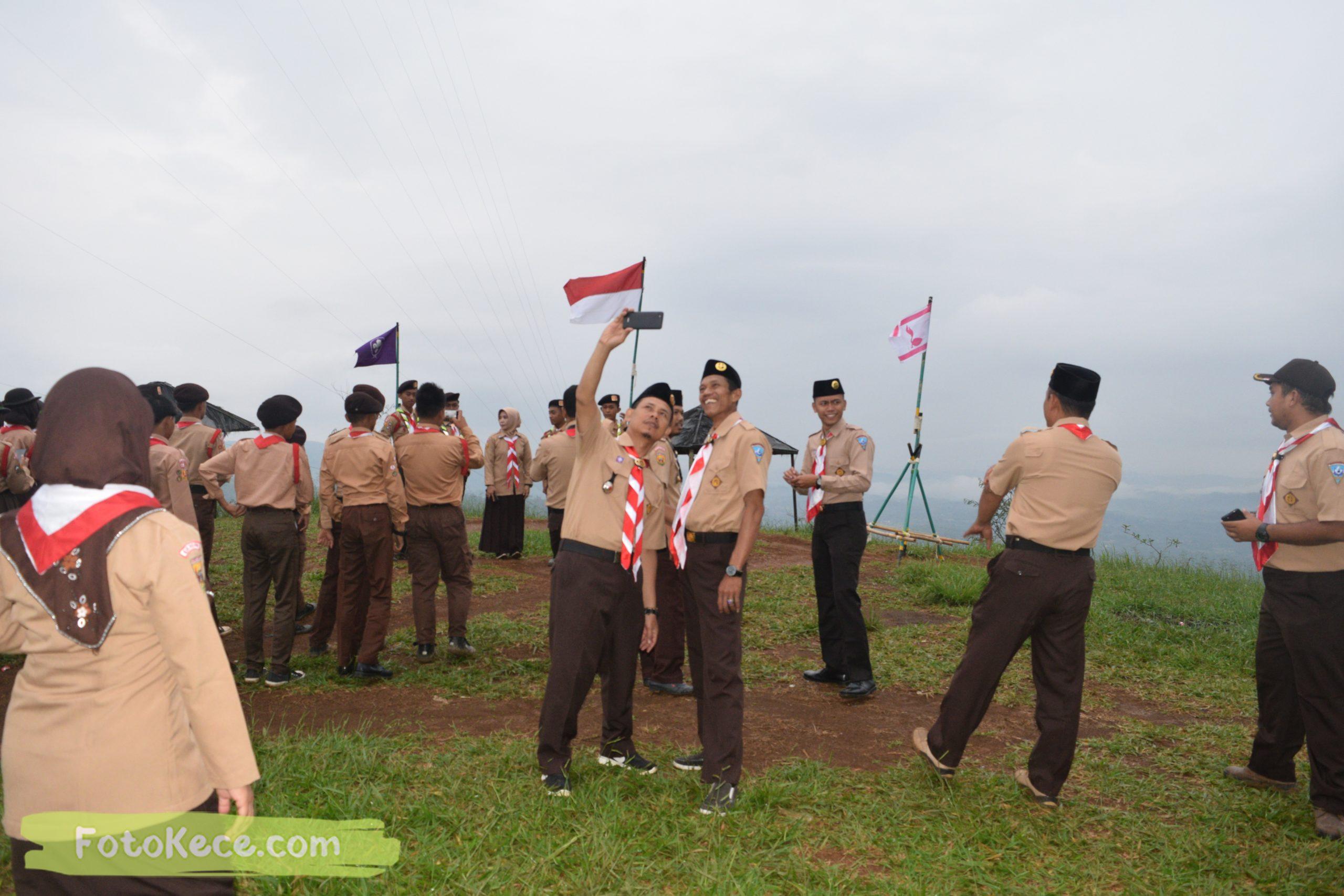 pembukaan perkemahan narakarya 1 mtsn 2 sukabumi 24 25 januari 2020 pramuka hebat wisata alam puncak buluh jampangkulon 70 scaled