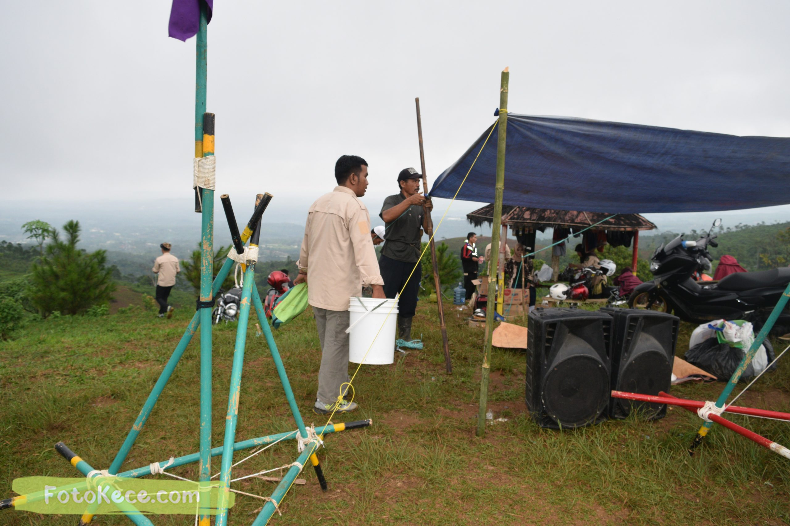 sebelum pembukaan perkemahan narakarya 1 mtsn 2 sukabumi 24 25 januari 2020 pramuka hebat puncak buluh foto kece 11 scaled