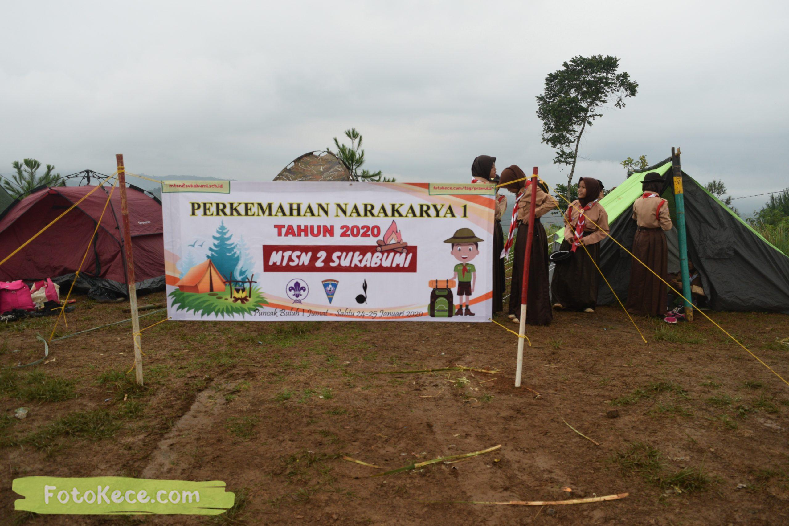 sebelum pembukaan perkemahan narakarya 1 mtsn 2 sukabumi 24 25 januari 2020 pramuka hebat puncak buluh foto kece 31 scaled