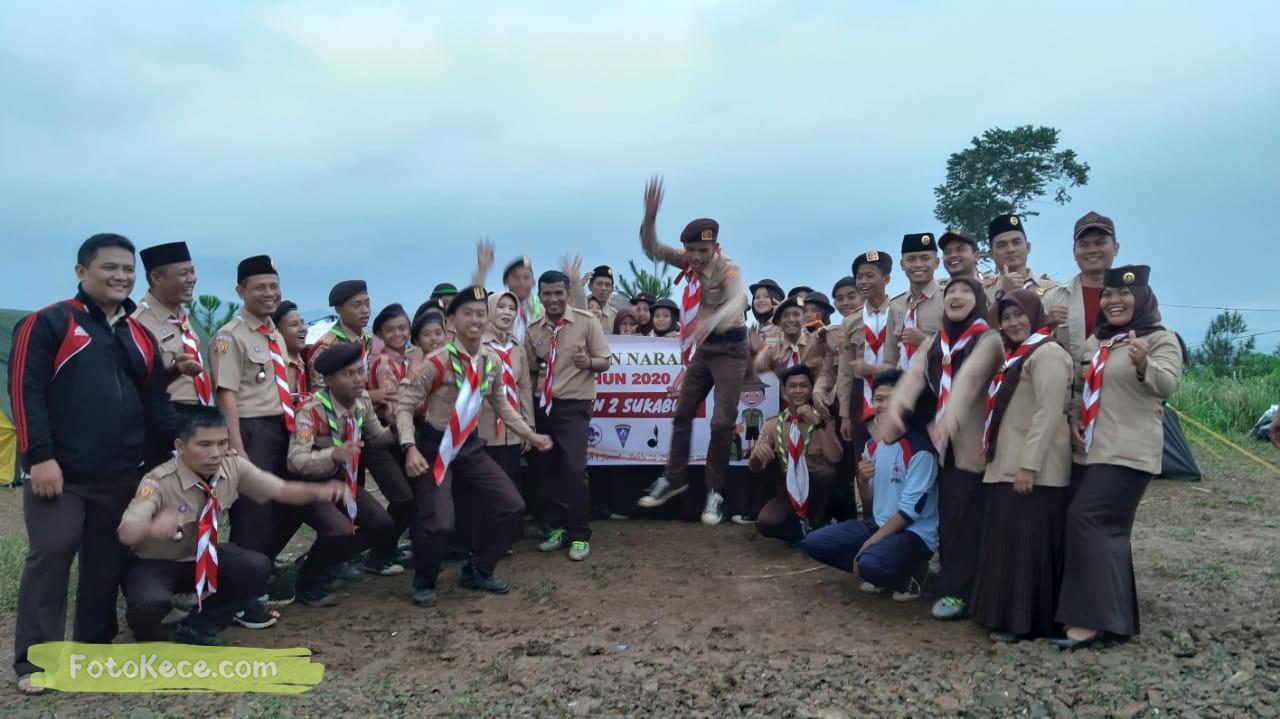 foto baregng kehebohan narakarya 1 2020 di wisata alam puncak buluh foto kece 16