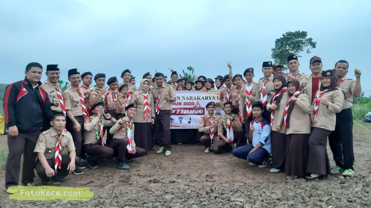 foto baregng kehebohan narakarya 1 2020 di wisata alam puncak buluh foto kece 17