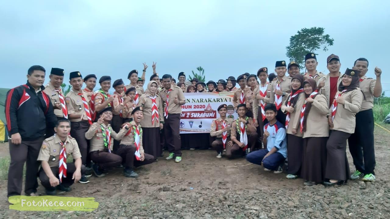 foto baregng kehebohan narakarya 1 2020 di wisata alam puncak buluh foto kece 18