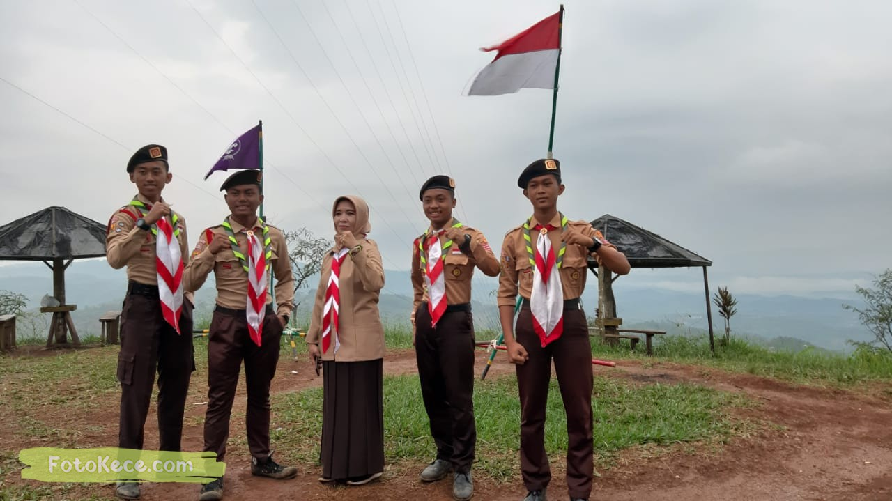 foto baregng kehebohan narakarya 1 2020 di wisata alam puncak buluh foto kece 20