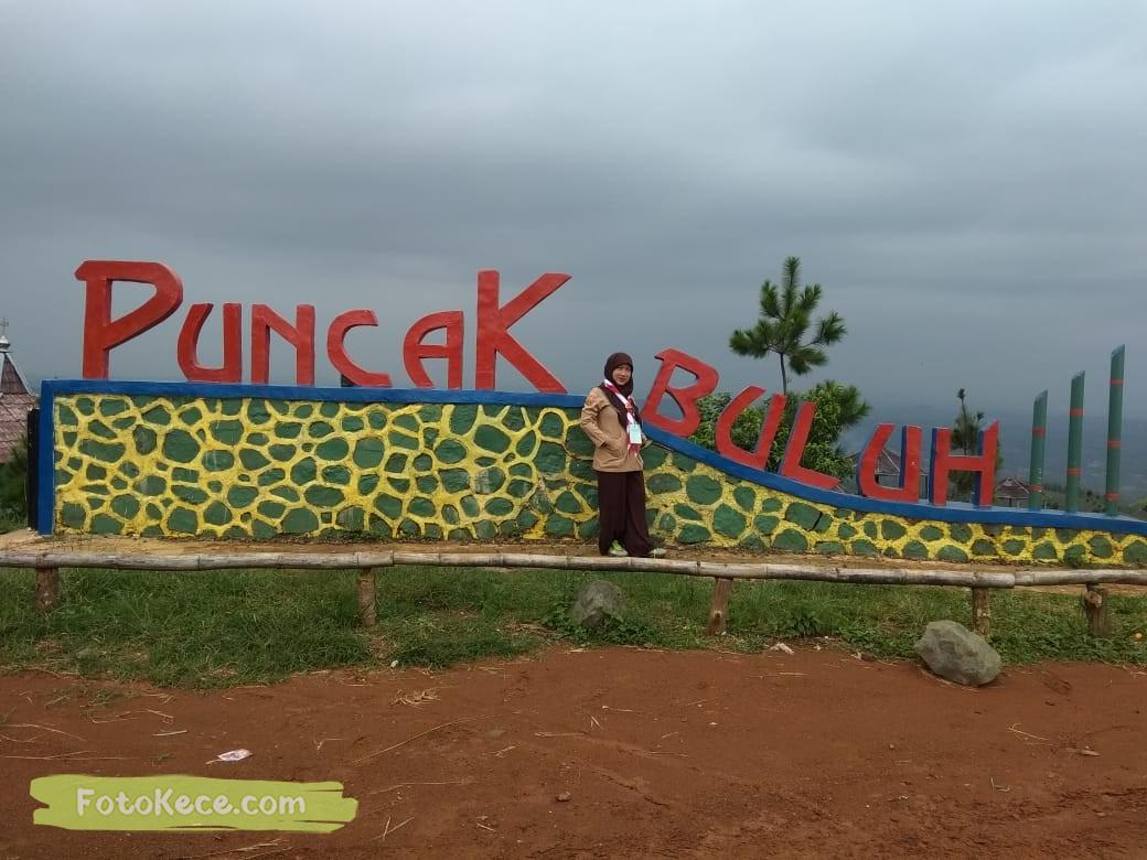 kehebohan narakarya 1 2020 di wisata alam puncak buluh foto kece 13