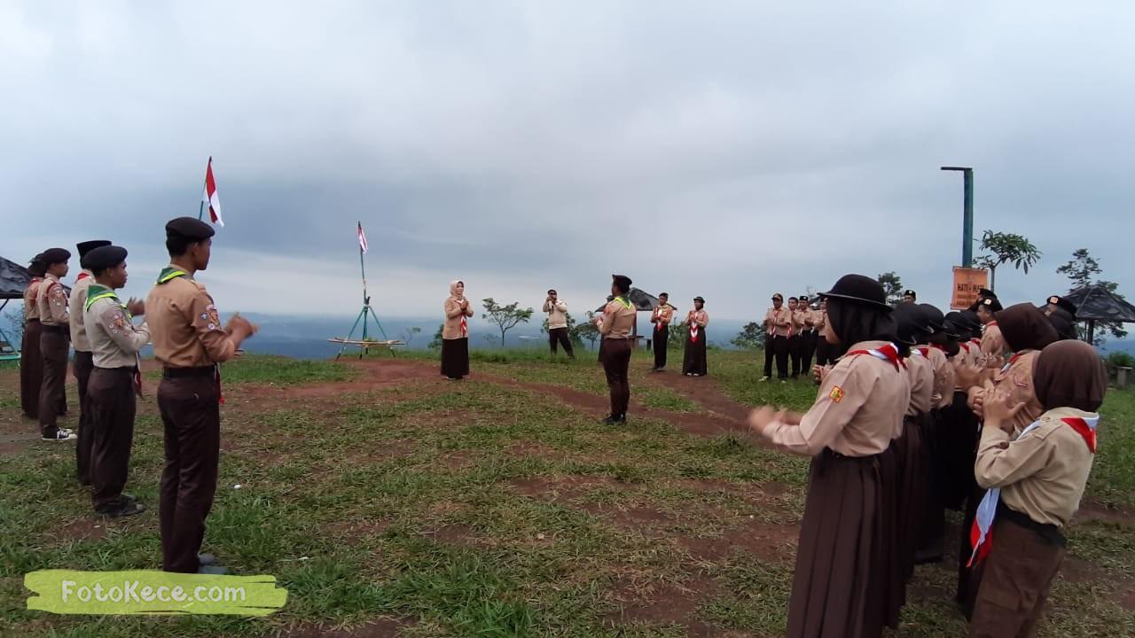 kehebohan narakarya 1 2020 di wisata alam puncak buluh foto kece 27