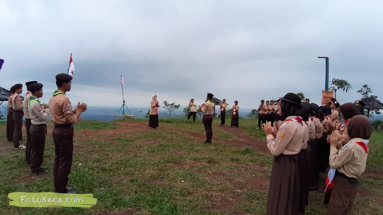 kehebohan narakarya 1 2020 di wisata alam puncak buluh foto kece 28