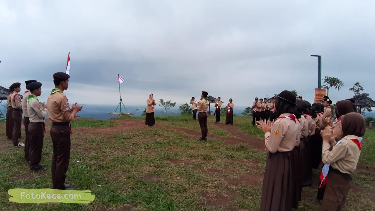 kehebohan narakarya 1 2020 di wisata alam puncak buluh foto kece 29