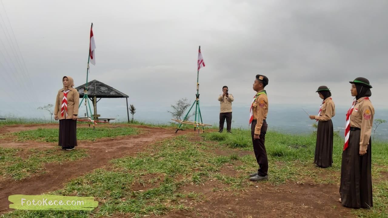 kehebohan narakarya 1 2020 di wisata alam puncak buluh foto kece 33
