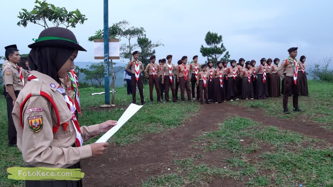 kehebohan narakarya 1 2020 di wisata alam puncak buluh foto kece 37