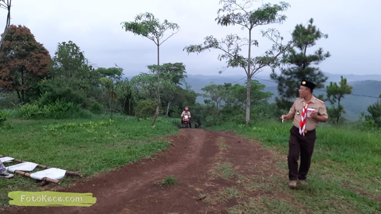 kehebohan narakarya 1 2020 di wisata alam puncak buluh foto kece 45