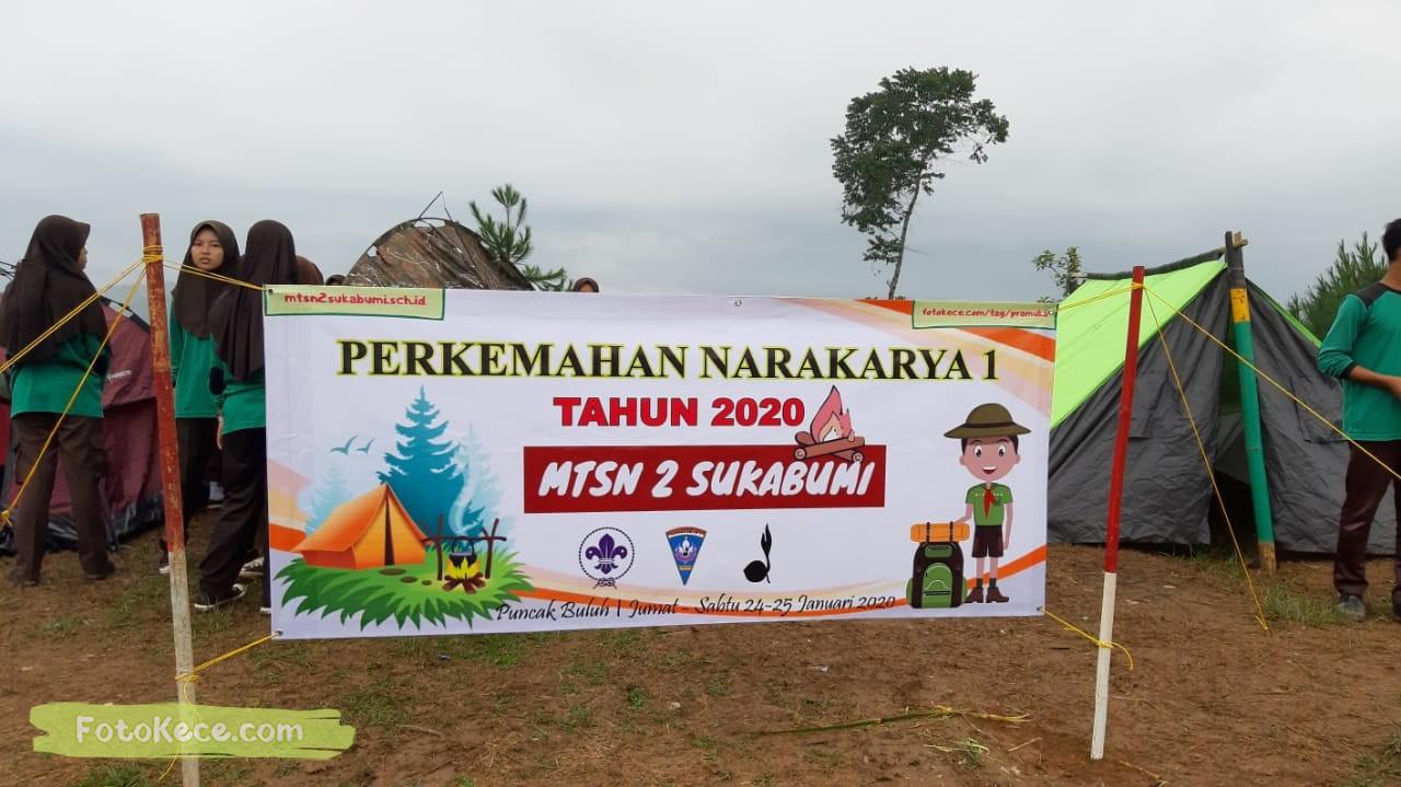 kehebohan narakarya 1 2020 di wisata alam puncak buluh foto kece 47