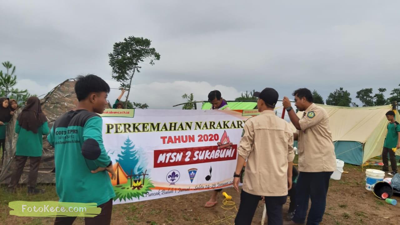 kehebohan narakarya 1 2020 di wisata alam puncak buluh foto kece 48