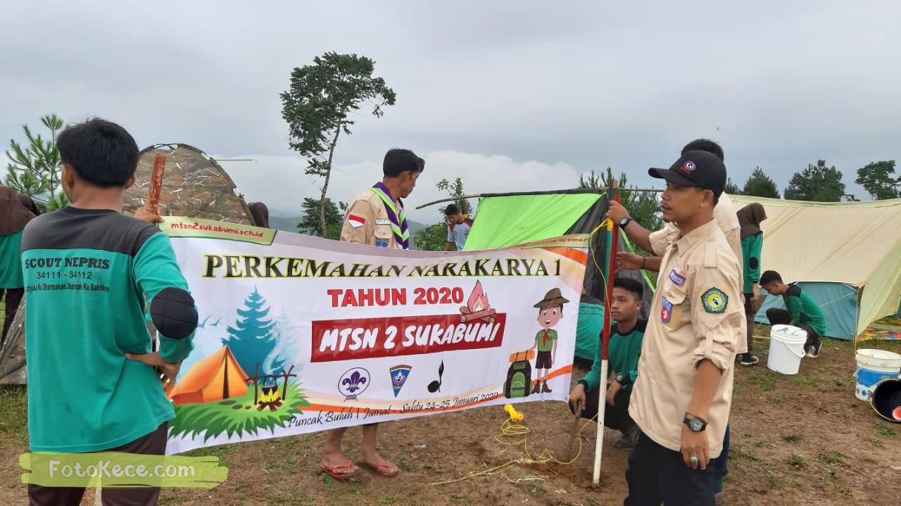 kehebohan narakarya 1 2020 di wisata alam puncak buluh foto kece 49