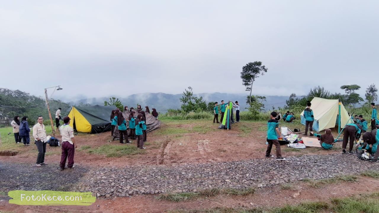 kehebohan narakarya 1 2020 di wisata alam puncak buluh foto kece 52
