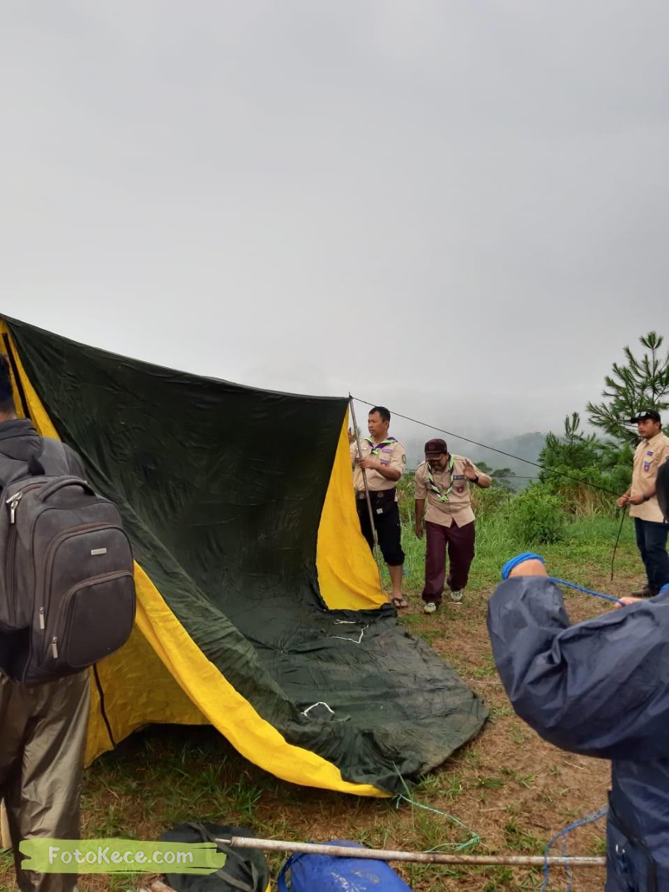 kehebohan narakarya 1 2020 di wisata alam puncak buluh foto kece 8