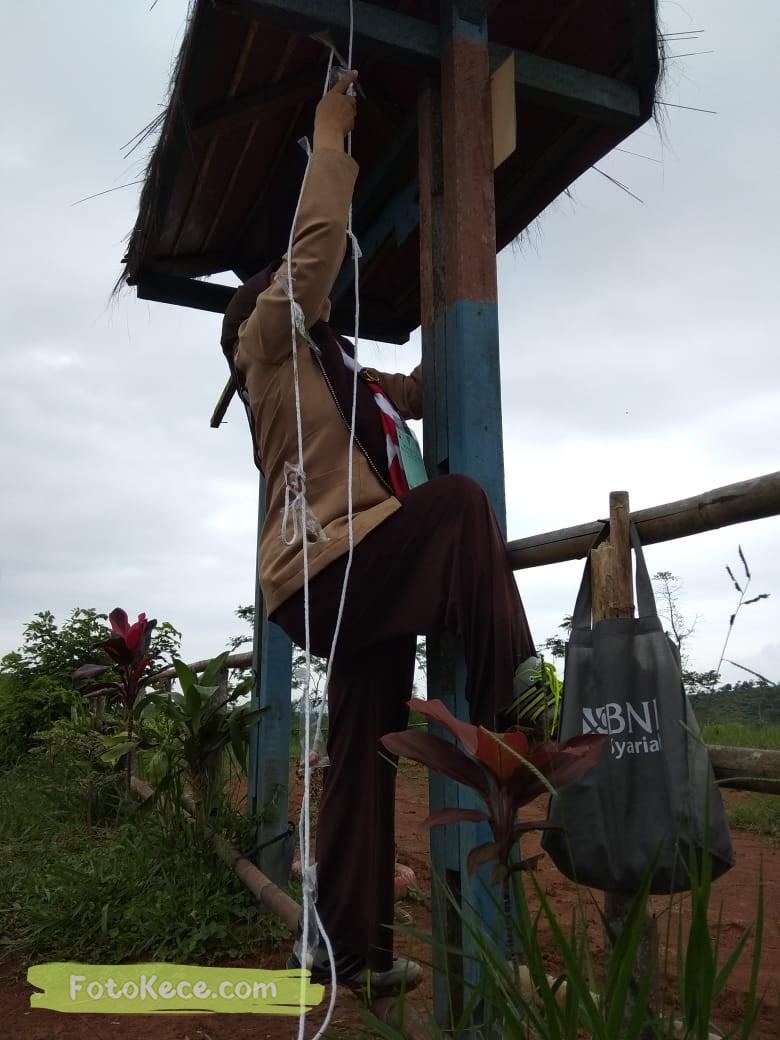 kehebohan narakarya 1 2020 di wisata alam puncak buluh foto kece 9