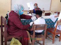06092021-seribu vaksin pelajar pada madrasah bersama puskesmas buniwangi surade sukabumi (14)