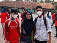 1 Siti Aidah Ketua OSIS hebat 17092021 Latihan paskibra hebat siswa MTsN 2 Sukabumi (4)