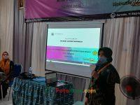 Hj Euis Sumirah pada Suasana ruangan pada PKKM 4 tahunan MTsN 2 Sukabumi (5)