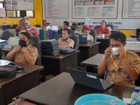 Saatnya PKKM (Penilaian Kinerja Kepala Madrasah) 2021, berikut foto meeting di MTsN 2 Sukabumi (1)