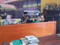 Saatnya PKKM (Penilaian Kinerja Kepala Madrasah) 2021, berikut foto meeting di MTsN 2 Sukabumi (12)