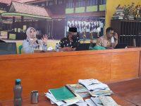 Saatnya PKKM (Penilaian Kinerja Kepala Madrasah) 2021, berikut foto meeting di MTsN 2 Sukabumi (5)