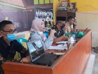Saatnya PKKM (Penilaian Kinerja Kepala Madrasah) 2021, berikut foto meeting di MTsN 2 Sukabumi (7)