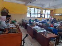 Saatnya PKKM (Penilaian Kinerja Kepala Madrasah) 2021, berikut foto meeting di MTsN 2 Sukabumi (9)