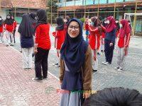 Siti Aidah Ketua OSIS hebat 17092021 Latihan paskibra hebat siswa MTsN 2 Sukabumi (6)