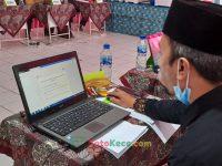 Widad Arifin Pengawas madrasah pada tim penilai pada PKKM 4 MTsN 2 Sukabumi (23)